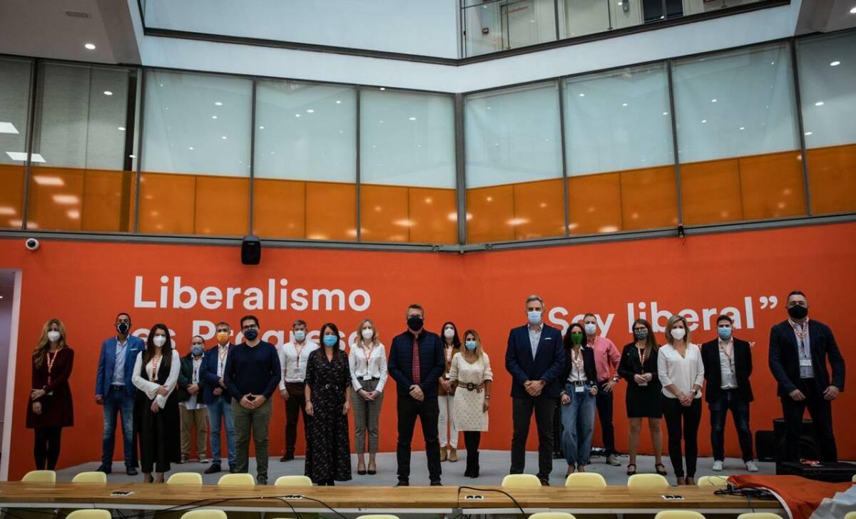 Reunión de dirigentes autonómicos de Cs en Madrid. Foto: CS